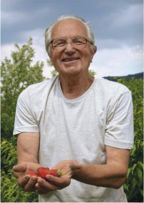 усмивка с ягодови сърчица