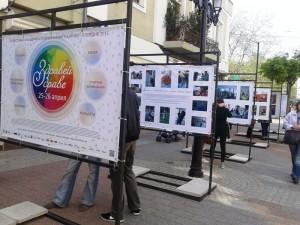Информационните табла са уловили Духа на Фестивала